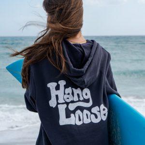 Unisex Double Hang Loose Pullover Hoodie