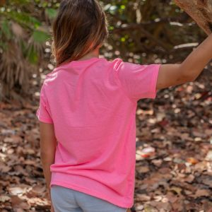 Youth-Stay-Wild-Tee-Pink