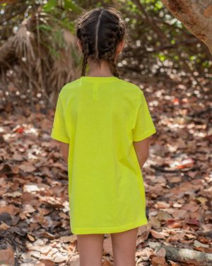 Youth-Stay-Wild-Tee-Yellow