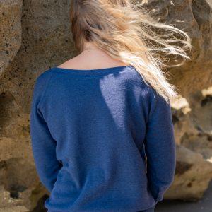 Womens Mindset Wide Neck Fleece