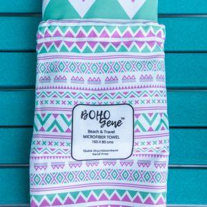 Boho Microfiber Quick Dry Beach Towel