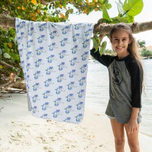 Hooded Sunscreen Towel